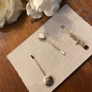 New Anthropologie Scorpio hair pins
